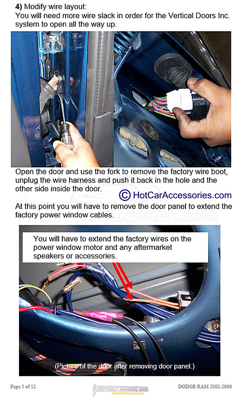 Pages 11 And 12 Are Left Blank Ram Truck Oem Wiring Harness Dodge 1500 2500 3500 Srt 10 2002 2008
